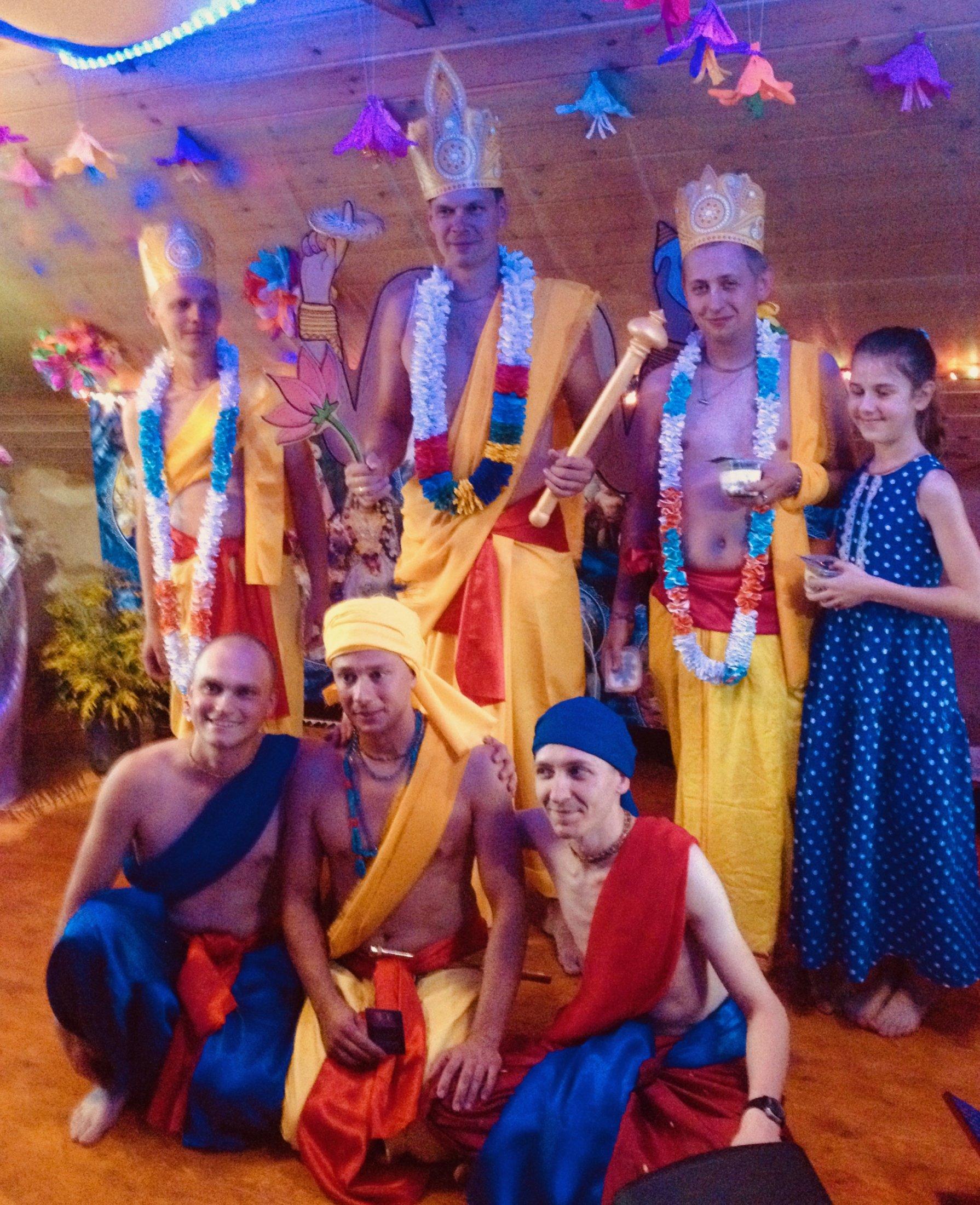 Спектакль на праздник Шри Кришна-Джанмаштами 2019